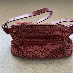 Like new small Coach purse